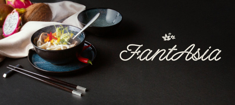 The atmosphere of the Far East on your table