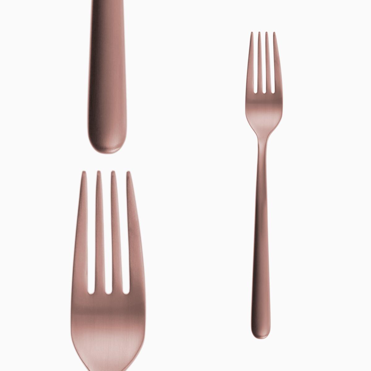 Table Fork - Faro Copper