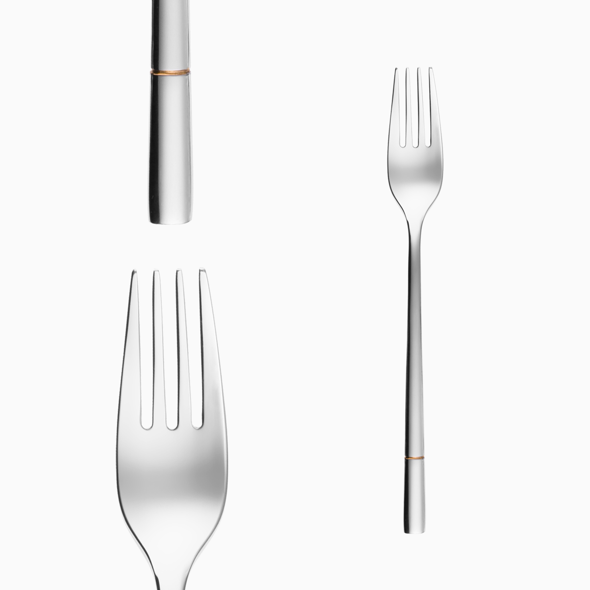 Table fork - Luxus Gold Line
