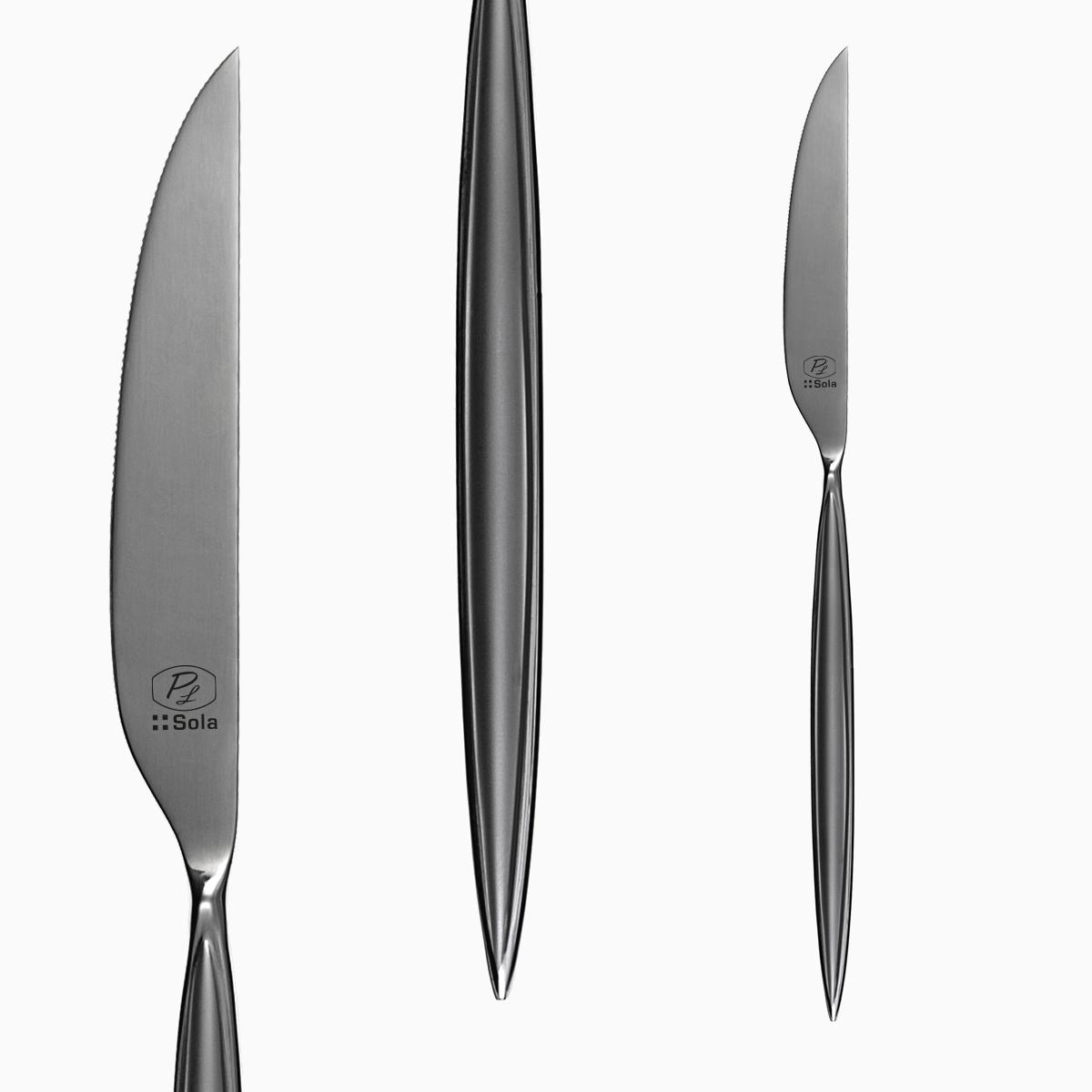 Table knife - Montevideo sandblast