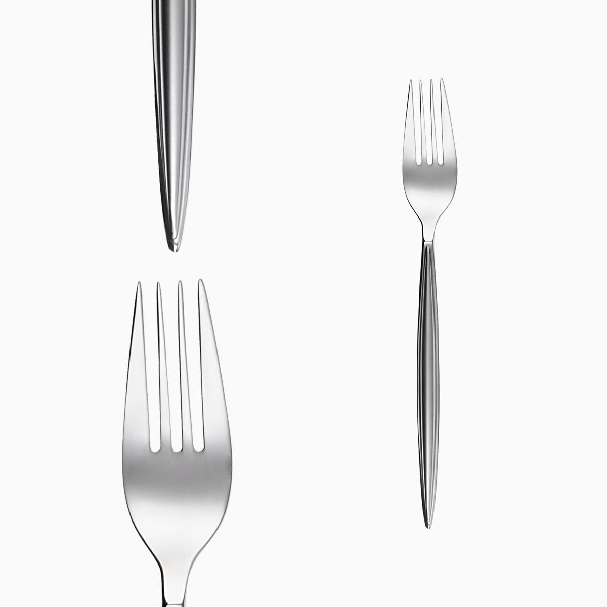 Dessert fork - Montevideo sandblast