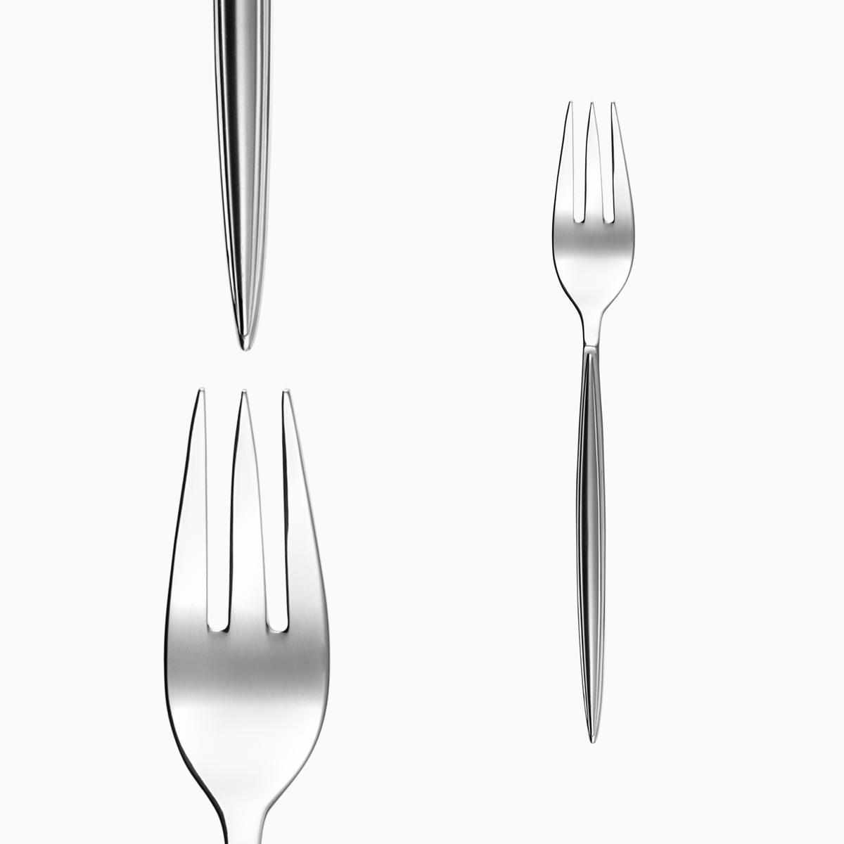 Fish fork - Montevideo sandblast