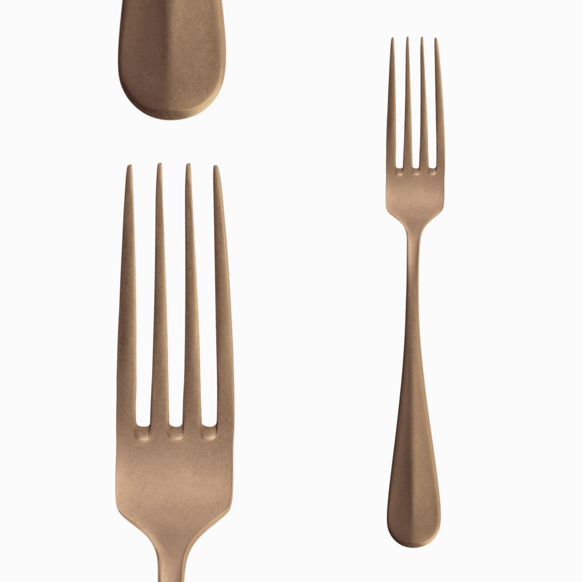 Table Fork - Baguette Vintage Gold