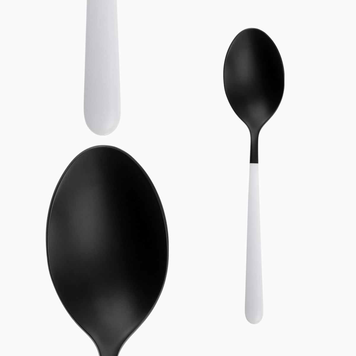 Table Spoon - Faro Black / White