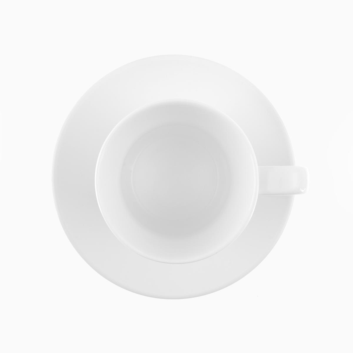 Kaffeeuntertasse konisch