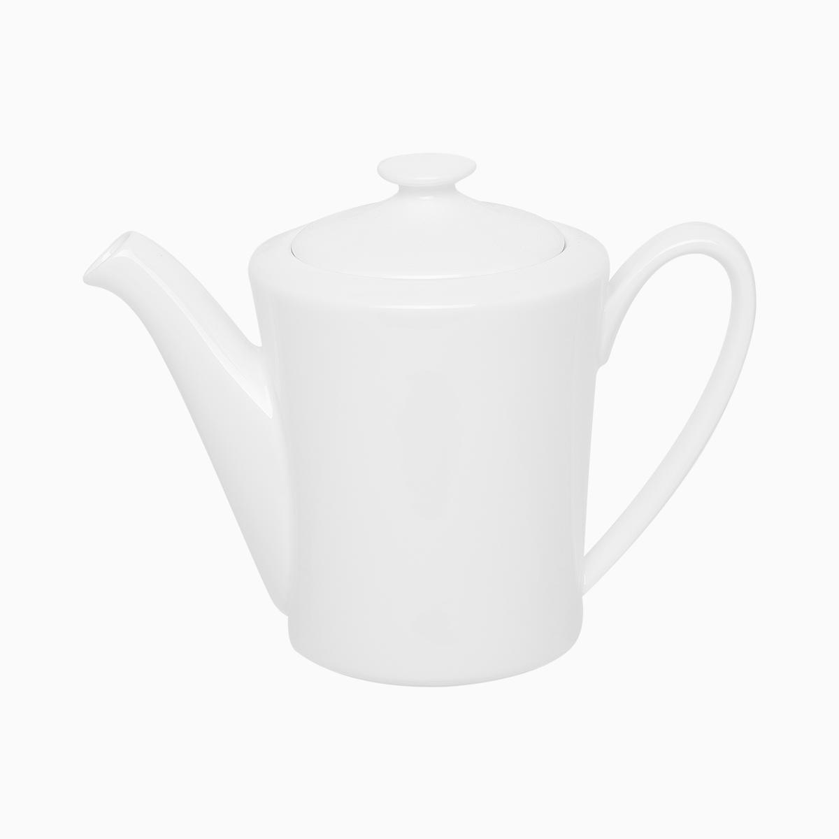 Kaffee- und Teekanne mit Deckel