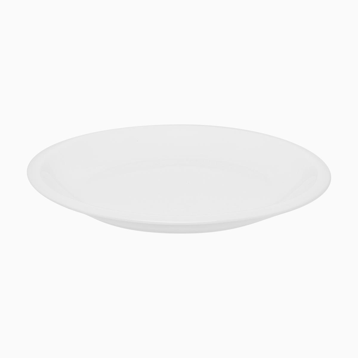 Dinner Plate With Narrow Edge