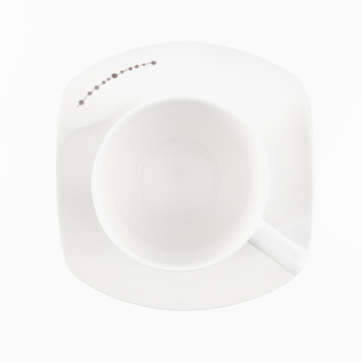 Coffee Saucer - Organic Pearl