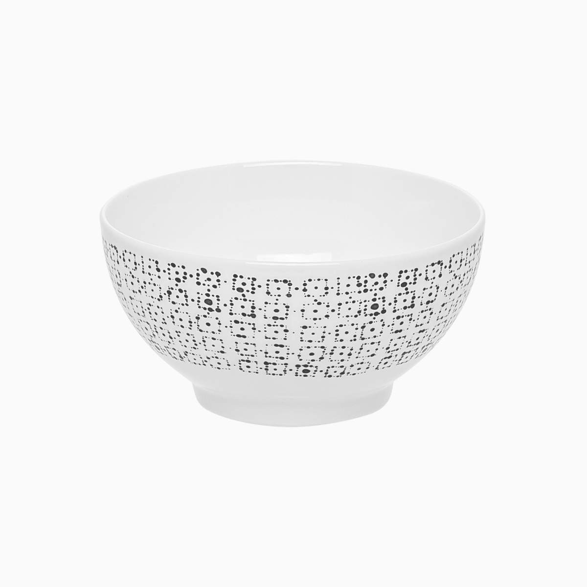 Cereal Bowl Dots Set