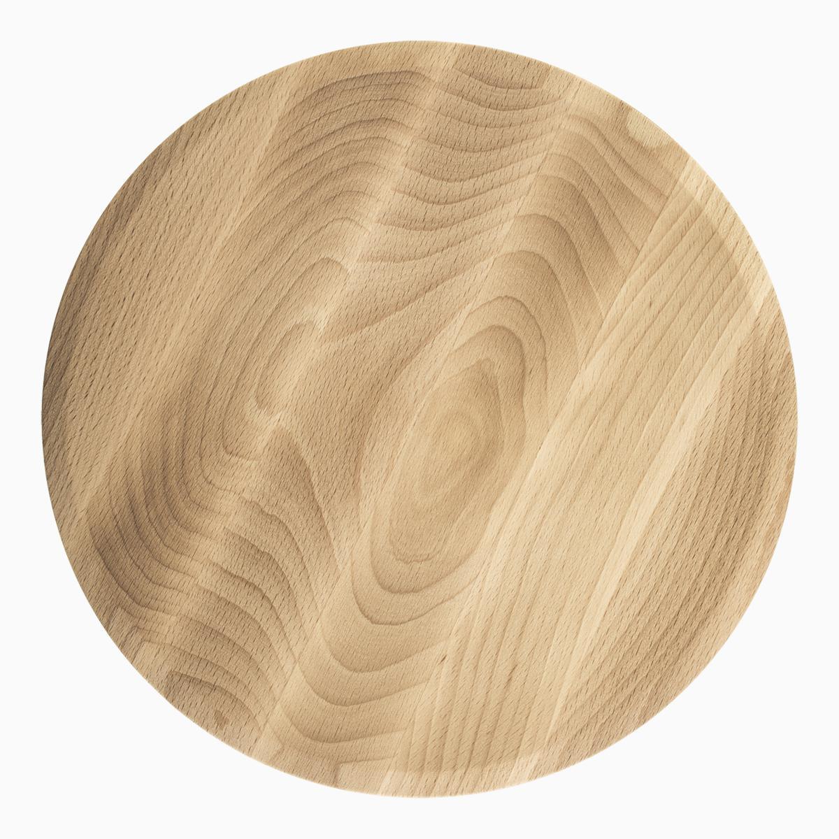 Wooden Plate Round