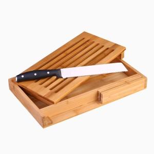 Doska na krájanie chleba s nožom - Set