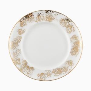 """Plytký tanier so """"spongue technique"""" motívom"""