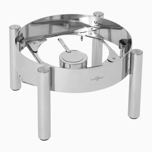 Round frame for chafing dish