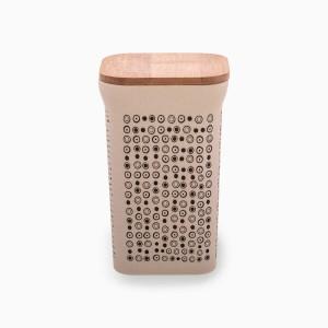 Dose mit Bambusdeckel 1420 ml
