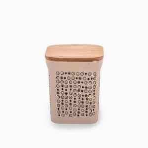 Dose mit Bambusdeckel 1050 ml